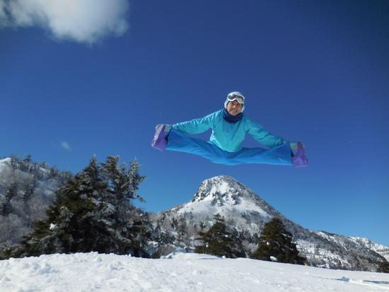 日本最高峰:志賀高原:横手山、一っ跳び|志賀高原 熊の湯スキー場のクチコミ画像2