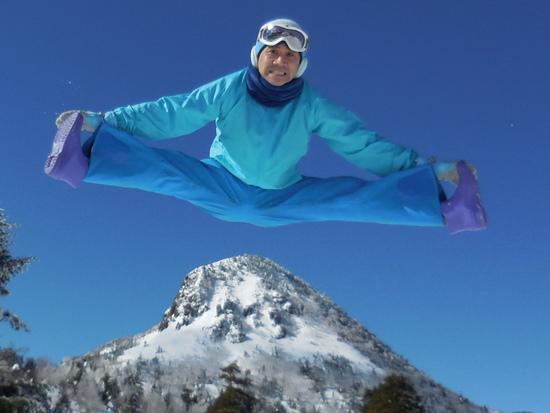 日本最高峰:志賀高原:横手山、一っ跳び|志賀高原 熊の湯スキー場のクチコミ画像3