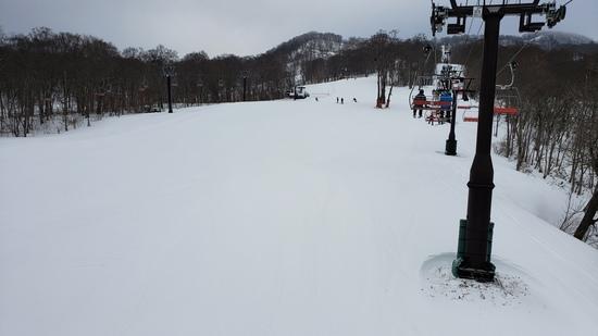 2020.1.11/09:00アイスバーンも積雪量十分!|たんばらスキーパークのクチコミ画像