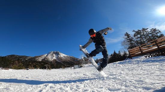 白根山コラボ(〜朝日を添えて)|丸沼高原スキー場のクチコミ画像
