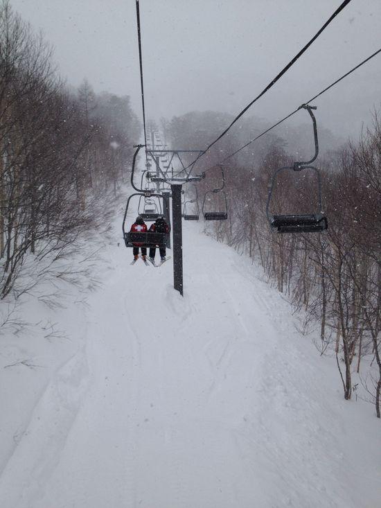 今シーズン初滑り|オグナほたかスキー場のクチコミ画像