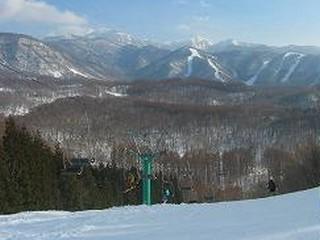 ファミリー向けの、のんびりしたスキー場