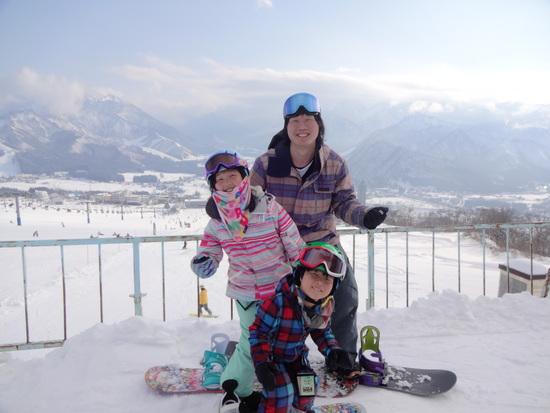 快晴!|岩原スキー場のクチコミ画像