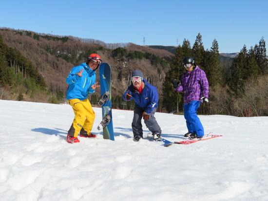 なかよし3人組|めいほうスキー場のクチコミ画像