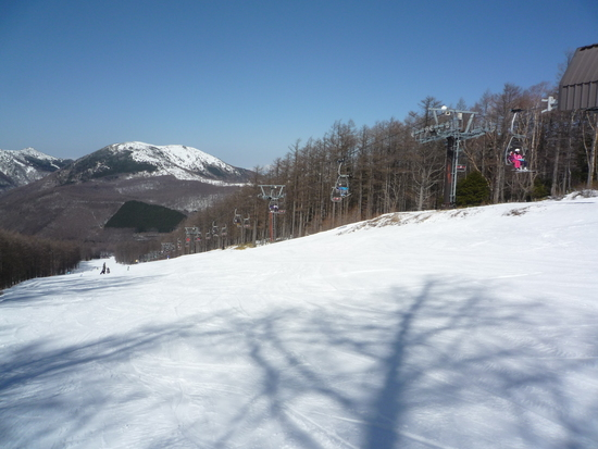 高齢者に優しいゲレンデ|湯の丸スキー場のクチコミ画像