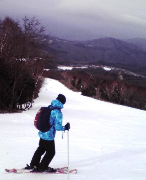 人工雪のみで、3000m滑走可能!!|ハンターマウンテン塩原のクチコミ画像1