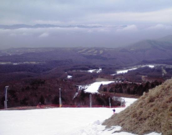 人工雪のみで、3000m滑走可能!!|ハンターマウンテン塩原のクチコミ画像2
