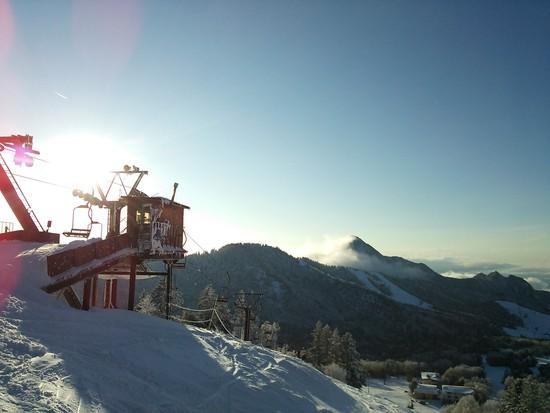 安心してください、滑れますよ♪|志賀高原 熊の湯スキー場のクチコミ画像