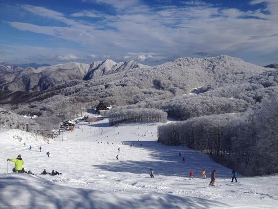 毎年初滑りで利用します。|蔵王温泉スキー場のクチコミ画像