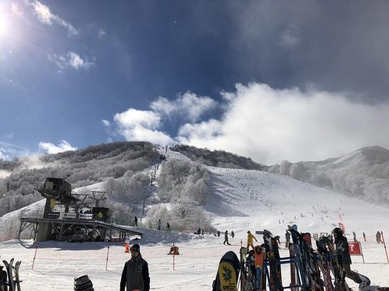 先週に引き続き|かぐらスキー場のクチコミ画像