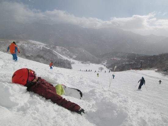 雪布団最高|白馬コルチナスキー場のクチコミ画像