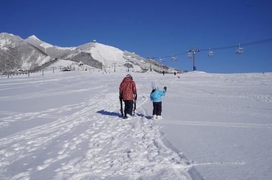 滑りやすかったです|岩原スキー場のクチコミ画像