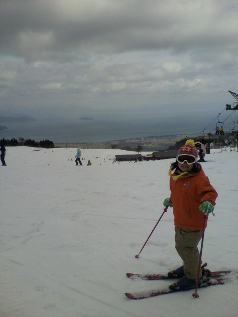 子供連れで|箱館山スキー場のクチコミ画像