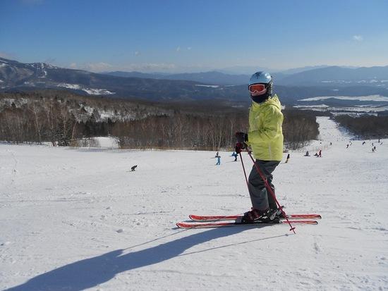 かなり硬い雪でした|パルコールつま恋スキーリゾートのクチコミ画像