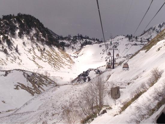 コース幅が狭〜い 草津温泉スキー場のクチコミ画像