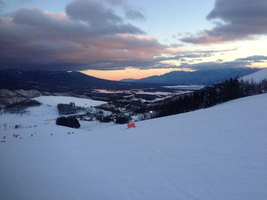 晴れ時々曇り|車山高原SKYPARKスキー場のクチコミ画像2