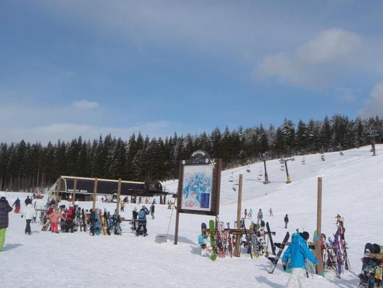 早くもハイシーズン並み|スキージャム勝山のクチコミ画像