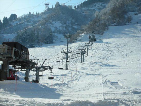 12/23の湯沢 晴れました|湯沢高原スキー場のクチコミ画像