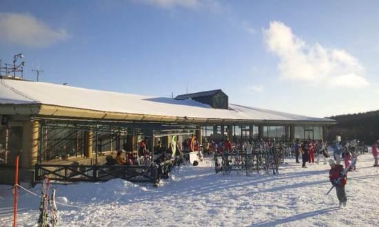 ゲレンデトップから富士山がくっきり見えました!|サンメドウズ清里スキー場のクチコミ画像