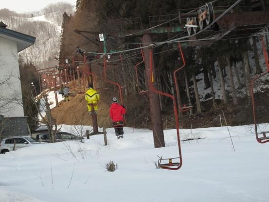 初体験、連絡リフト|白馬岩岳スノーフィールドのクチコミ画像