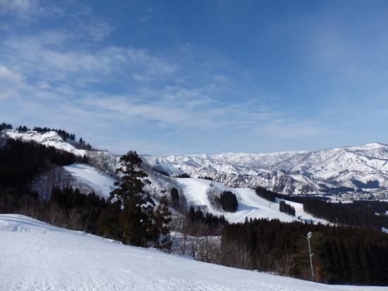 晴れると意外に景色が良いスキー場|湯沢パークスキー場のクチコミ画像2