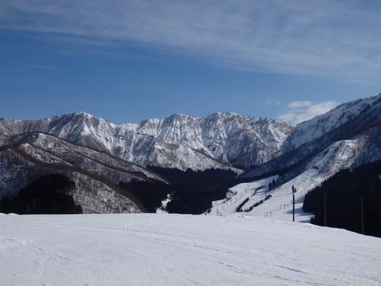 晴れると意外に景色が良いスキー場|湯沢パークスキー場のクチコミ画像3