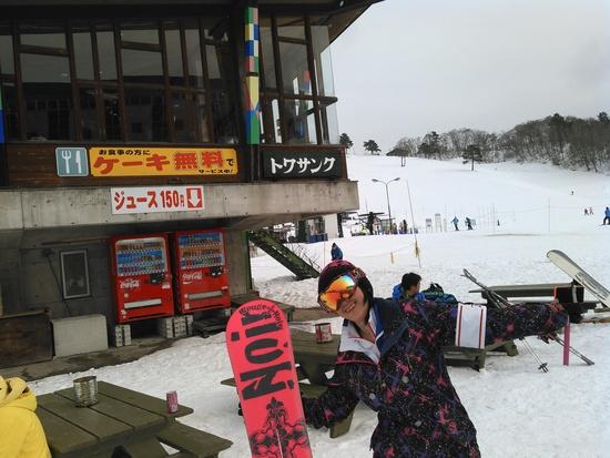 ゲレ食のサイドメニューが無料です!|斑尾高原スキー場のクチコミ画像