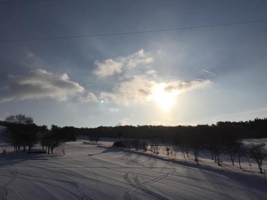 快晴(^.^)|ひるがの高原スキー場のクチコミ画像