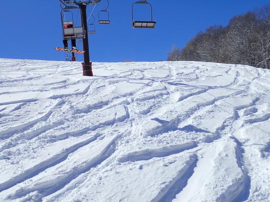 かなり滑り応えがあるスキー場でした|HAKUBAVALLEY 鹿島槍スキー場のクチコミ画像