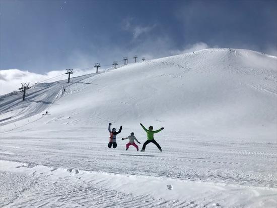 八方サイコー、天気サイコー|白馬八方尾根スキー場のクチコミ画像