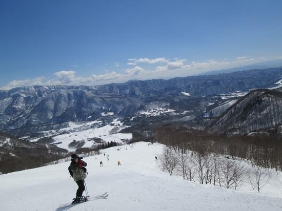 トップシーズンに近い雪質|栂池高原スキー場のクチコミ画像