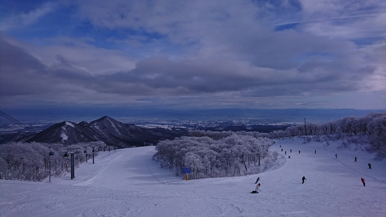 ゲレンデフルオープン☆|夏油高原スキー場のクチコミ画像