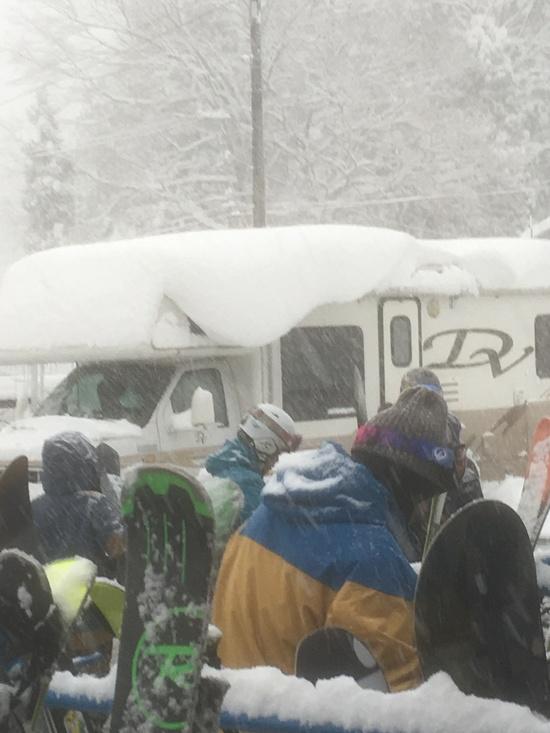 年末寒波凄すぎ!|かぐらスキー場のクチコミ画像