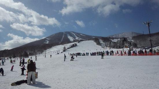 雪質はチョ~最高なんですが・・・春節ということで・・・。 安比高原スキー場のクチコミ画像