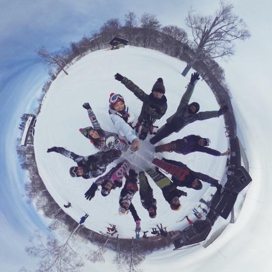滑りやすい|グランデコスノーリゾートのクチコミ画像1