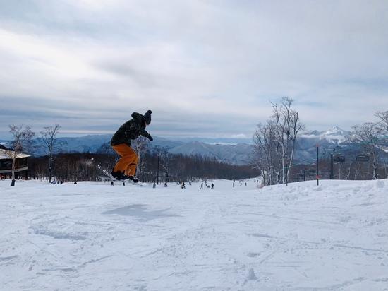滑りやすい|グランデコスノーリゾートのクチコミ画像3