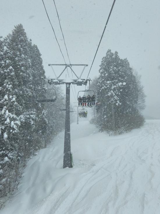 12月前半にこの雪量♪|かぐらスキー場のクチコミ画像