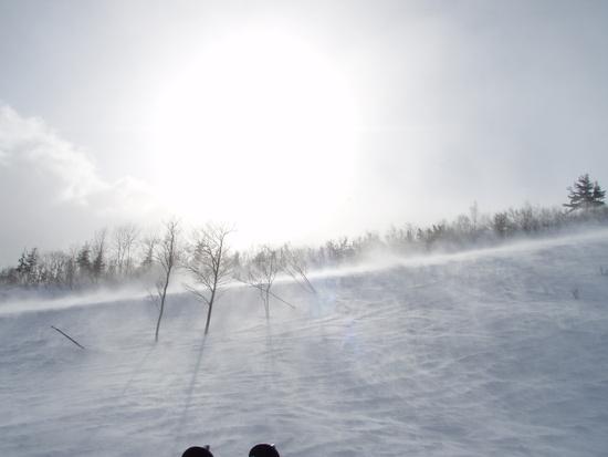 年末の白馬は天候大荒れ|白馬八方尾根スキー場のクチコミ画像