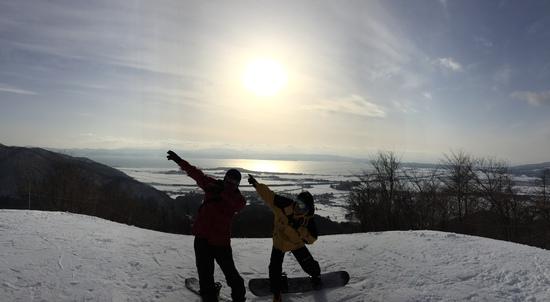 猪苗代湖ジャンプ!|リステルスキーファンタジアのクチコミ画像