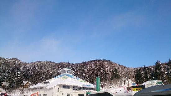 雪予報なのに晴れ!|鷲ヶ岳スキー場のクチコミ画像3