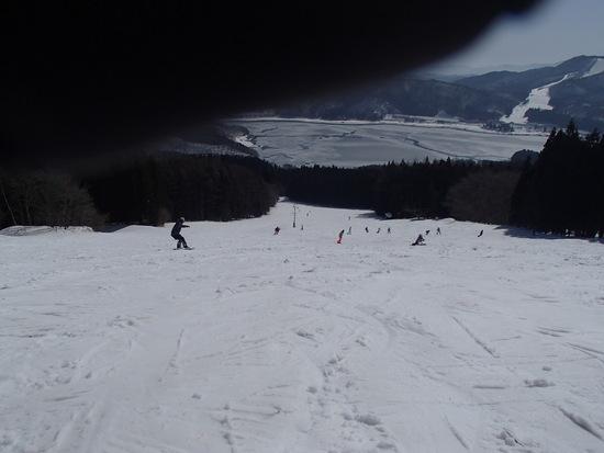 春の雪は 重っ!!|白馬さのさかスキー場のクチコミ画像
