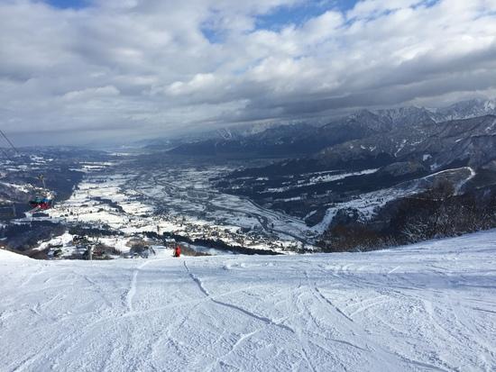 小雪ですが、滑れます。|石打丸山スキー場のクチコミ画像