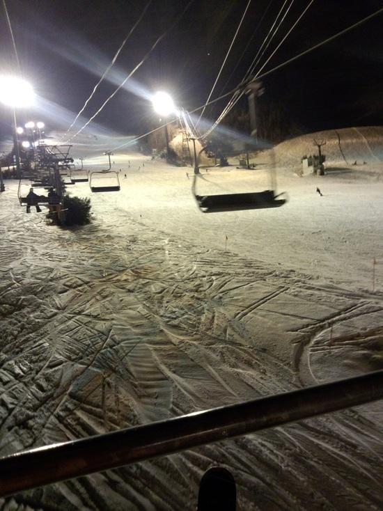 ナイターで足慣らし|苗場スキー場のクチコミ画像