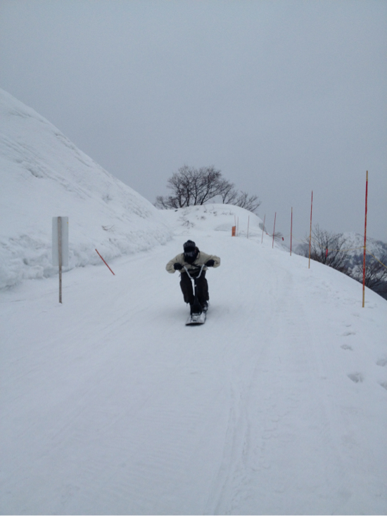 あいにくの雨 上越国際スキー場のクチコミ画像