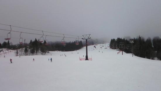 2月初めなのに春スキーの様子|蔵王温泉スキー場のクチコミ画像