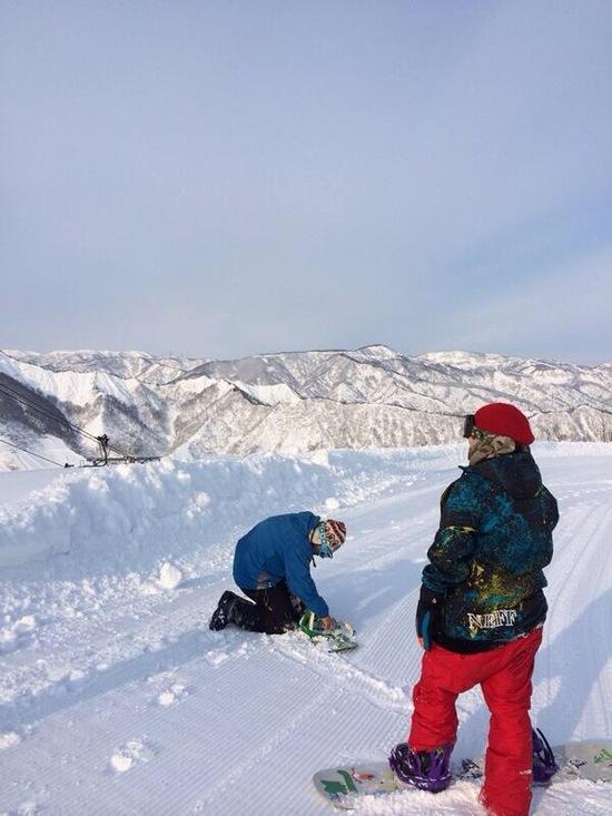 お手軽非圧雪ゲレンデ。|湯沢中里スノーリゾートのクチコミ画像