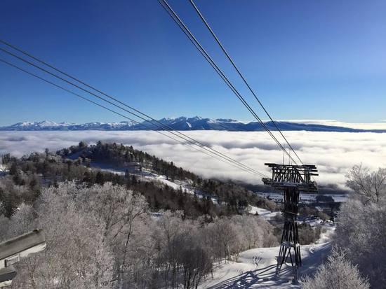 雲海!|富良野スキー場のクチコミ画像