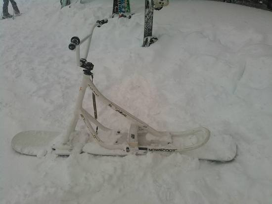 パウダー、初滑り!|エイブル白馬五竜のクチコミ画像2