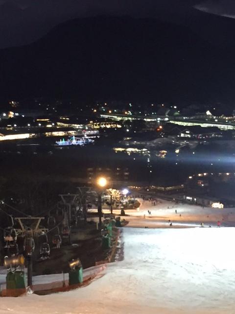 ナイター|軽井沢プリンスホテルスキー場のクチコミ画像