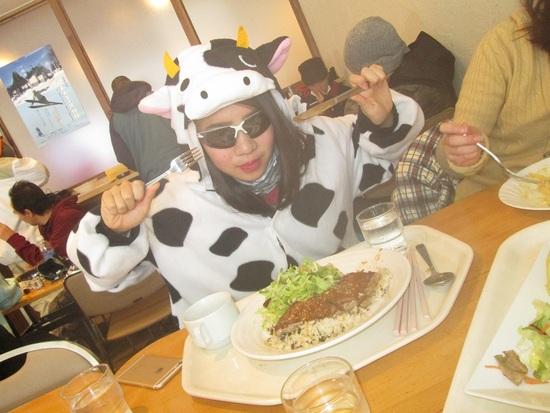 野沢牛が牛食べる|Hakuba47 ウインタースポーツパークのクチコミ画像